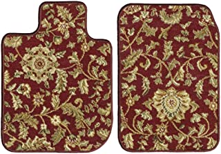 GGBAILEY D60356-F1A-RD-IS Custom Fit Car Mats for 2017, 2018, 2019 Land Rover Discovery Red Oriental Driver & Passenger Floor