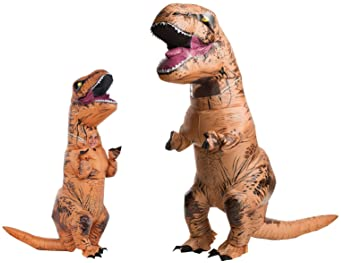 T-Rex Inflatable Child Costume with Sound