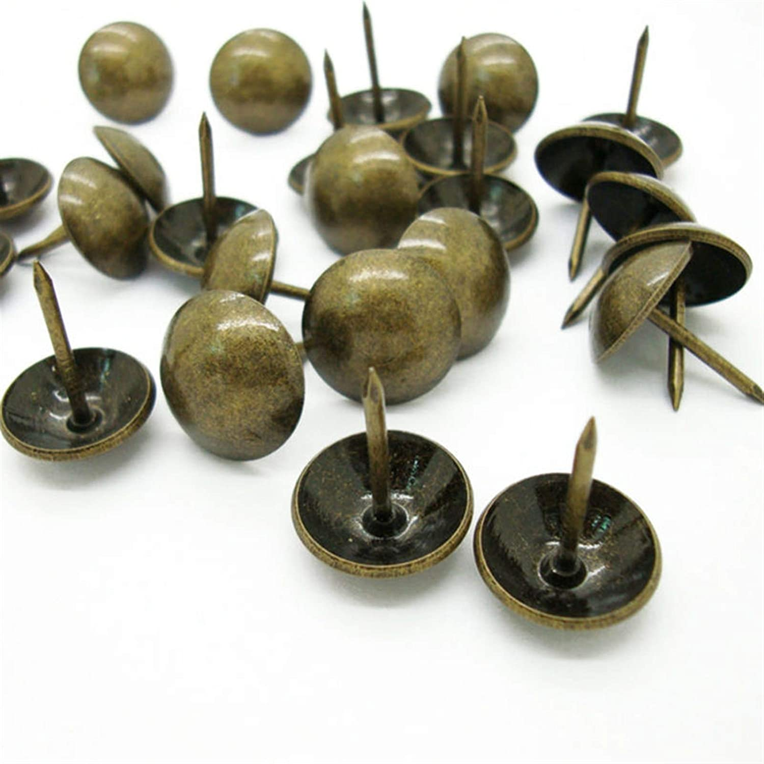 Pushpin 100 pieces Max 60% OFF of vintage bronze drum jewelry sofa box Challenge the lowest price of Japan ☆ nail