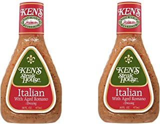 ken's italian dressing with aged romano