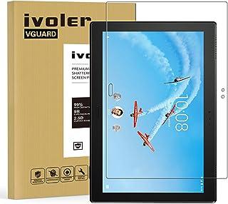 iVoler Protector de Pantalla para Lenovo TAB4 10 Plus/Lenovo Tab 4 10 Plus, Cristal Vidrio Templado Premium