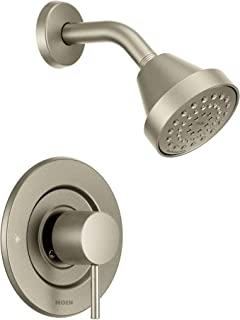 Moen T2192BN Align Posi-Temp Pressure Balancing Modern Shower Trim Kit Valve Required, Brushed Nickel