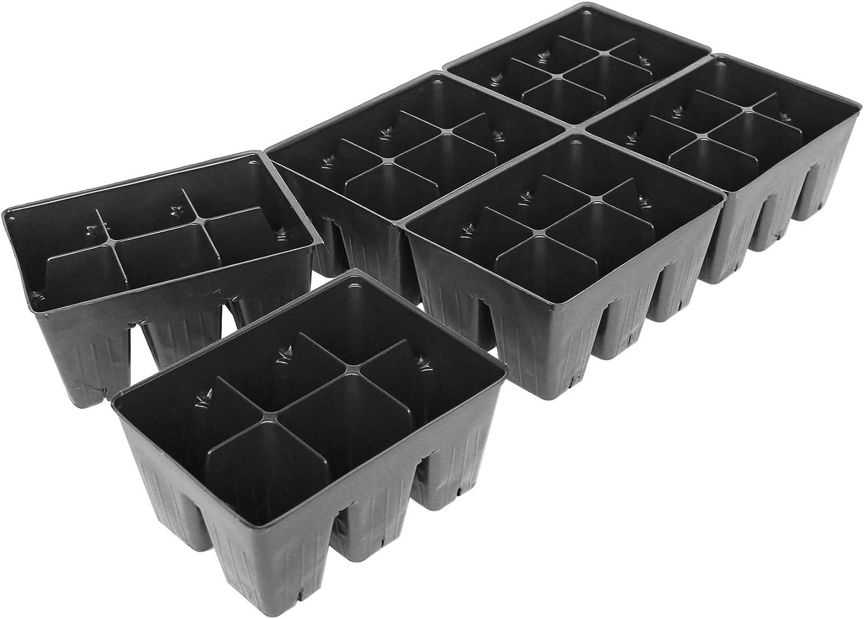 Handy Pantry Black Plastic Garden Tray 春の新作 オープニング 大放出セール Inserts 50 of - 36 Sheets