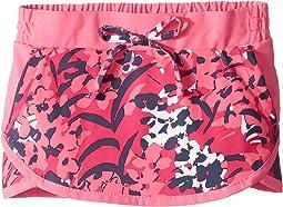 Haute Pink Tropical Floral Print/Wild Geranium