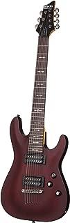 Schecter OMEN-7 7-String Electric Guitar, Walnut Satin