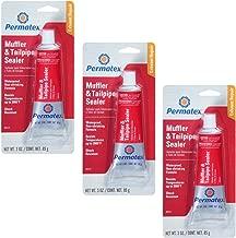 Permatex 80335 Muffler and Tailpipe Sealer, 3 oz. 3-Pack