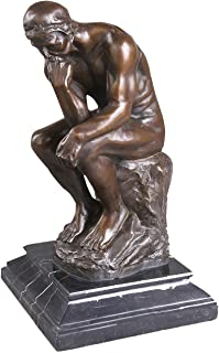 Toperkin Famous Collection The Thinker Rodin Figurines Bronze Statues Sculptures