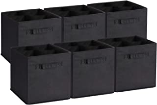 UMI. by Amazon - Cube de Rangement Tissu, Panier de Rangement, Caisse de Rangement, casier Rangement, Rangement Vetement, ...
