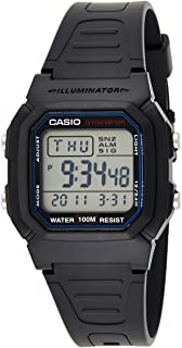Casio W-800H-1AV Black Dual Time Unisex Digital Sports Watch