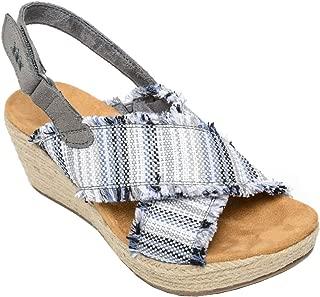 Womens Multi Laredo Breeze Slingback Wedge Sandal