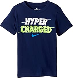 Nike Kids - Hyper Charged Tee (Little Kids)