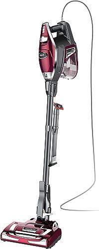 Shark Rocket DeluxePro Ultra-Light Upright Corded Stick Vacuum, Bordeaux product image