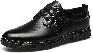Meetloveyou Break Out PU Leather Shoes Men,Lace-Up Wedding Shoe,Men Dress Shoes,British Style Fashion Men Oxford Male Father