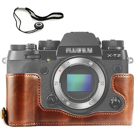 XPro2 nero gradienter First2savvv XJPT-XPRO2-D01G15 Custodia Fondina in pelle sintetica per macchine fotografiche reflex compatibile con Fujifilm X-Pro2