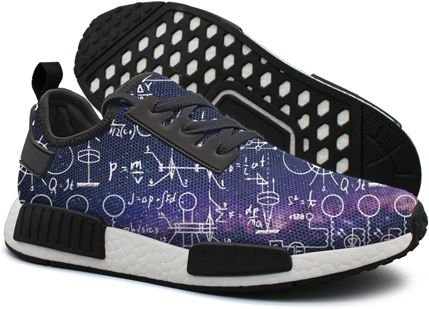 Physical Formulas Math Equations Women's Casual Lightweight Basketball Sneakers Gym Outdoor Gym shoes