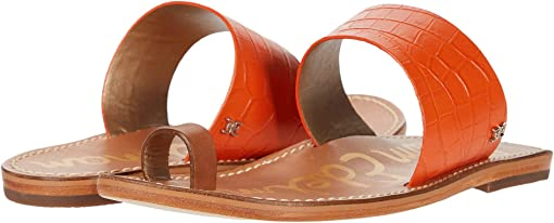 Spicy Orange/Spiced Clay Shiro Croco Leather/Heavy Texas Veg Lea