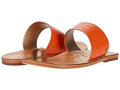 Sam Edelman Maxy (Spicy Orange/Spiced Clay Shiro Croco Leather/Heavy Texas Veg Lea) Women