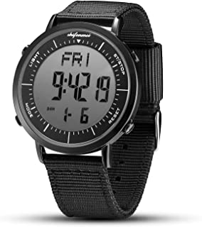 Digital Watches, shifenmei Digital Sports Watch Daily Alarm Hourly Chime Stopwatch 12/24H Date EL Backlight Military Outdoor Waterproof Multifunction Large Face Watches for Men Women Kids