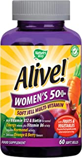 Nature's Way Alive! Women`s 50+ Soft Jell 60 Chewables