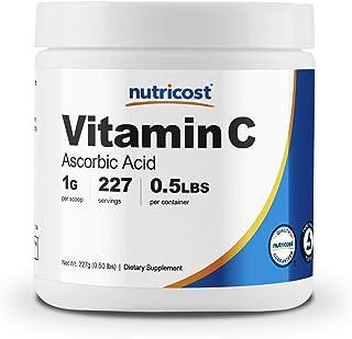 Sponsored Ad - Nutricost Ascorbic Acid Powder (Vitamin C) 0.5 LBS (8 Ounce)