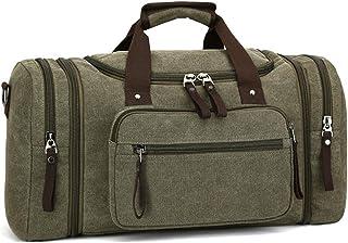 Naxdawon Reisetasche für Damen und Herren, Segeltuch, Übernachtung, Wochenendtasche, große Kapazität, Handgepäck, Reisetasche, übergroße Handtasche für Reisen, Business, Sport