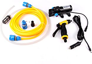 AURELIO TECH Mini and Portable 80W 130PSI High Pressure Car Electric Washer Pump 12V