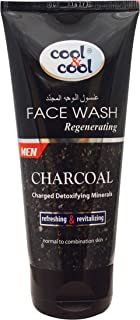Cool & Cool Regenerating Face Wash for Men, 75 ml