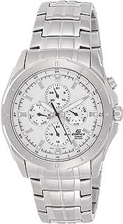 Casio Mens Quartz Watch, Analog Display and Stainless Steel Strap EF-328D-7AV