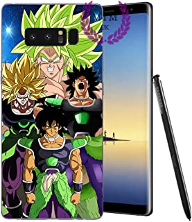 MIM UK Dragon Ball Z Super GT Samsung Note Case Covers Compatible for Samsung Note Series (Broly Evos, Samsung Note 8)
