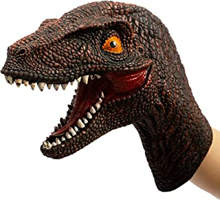 velociraptor head toy