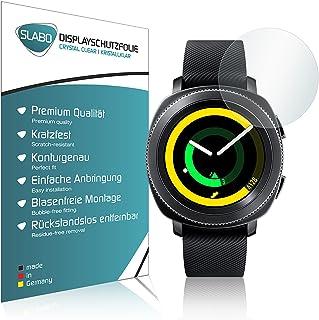 Slabo 4 x Skärmskydd kompatibel med Samsung Gear Sport (SM-R600) Skyddsfilm Skydd Crystal Clear KLAR