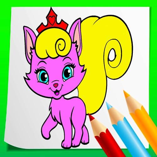 Cat coloring book 2021