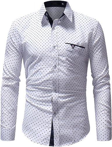 Briskorry Camisa para hombre de patchwork, de verano ...