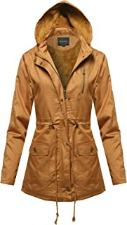 Made by Emma Women's Military Dyulr Zipper & Snap Button Closure Jacket