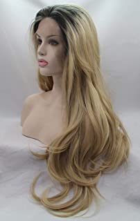 باروكة شعر فايبر نسائي طويل