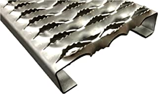 3232014-24 Grip Strut Channel 14 Gauge Galvanized Steel 3-Diamond Plank Safety Grating, 24