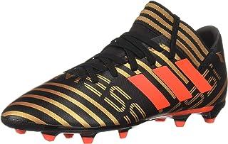 adidas Boys' Nemeziz Messi 17.3 FG J, Core Black/Solar Red/Tactile Gold, 1 M US Little Kid