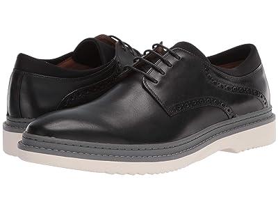 Steve Madden Daryll Oxford (Black Leather) Men