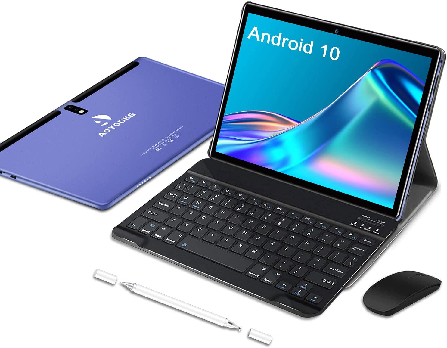2 in 1 Tablet 10 Inch Android Challenge the lowest price Tablets 128G Pie Keyboard with Max 62% OFF 9.0