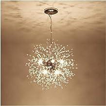 VELIHOME Lustres criativos, estilo nórdico, Lustres de cristal, Lustres modernos pendurados, Lustres modernos no hall de e...