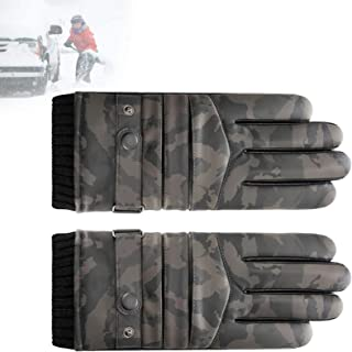 Camouflage Hunting Gloves Full Finger Gloves Warm Windproof Gloves, Cold Weather, Comfortable Wear, Warmer and Safer, Hard...