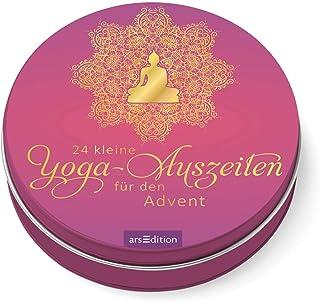 24 kleine Yoga-Auszeiten für den Advent: Adventskalender in der Dose