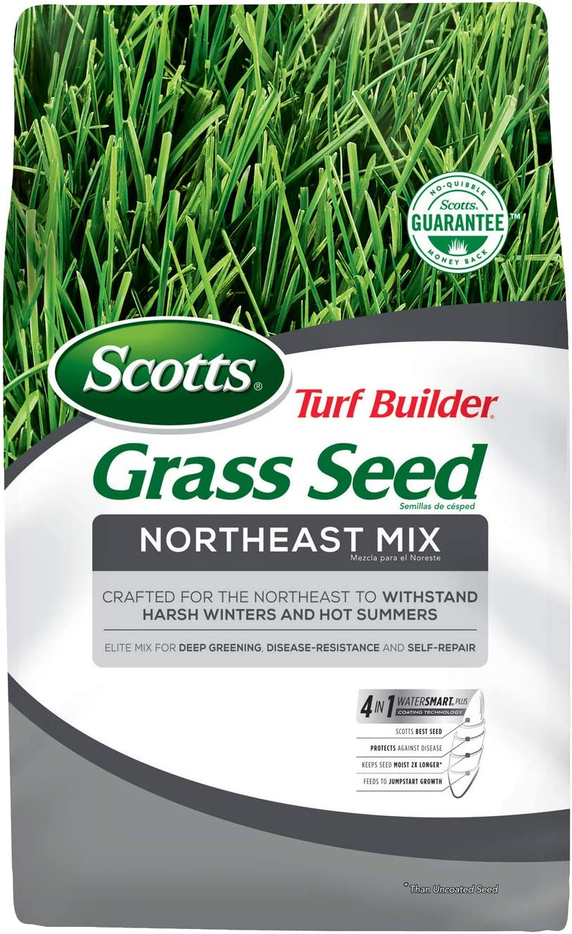 Scotts Turf 5 popular Builder Grass Seed Northeast 7 lb. - sale Mix Withstands