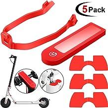 5 Accesorios de Piezas Repuesto Scooter para Xiaomi M365/ M365 Pro Scooter, Incluye Soporte Guardabarros Trasero, Cubierta Protectora de Silicona Impermeable, 3 Amortiguadores de Vibraciones de Goma