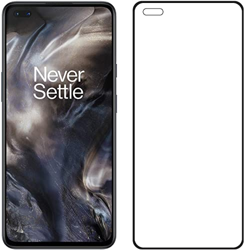 VIMES Oneplus Nord 11D 6D Tempered Glass Edge To Edge Full Screen Coverage 11D 6D Screen Protector For Oneplus Nord With Easy Installation Kit Black