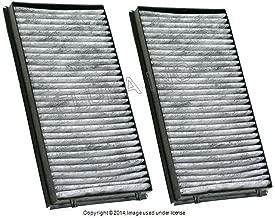 BMW Genuine Cabin Air Filter Set - Activated Charcoal 745i 750i 760i ALPINA B7 745Li 750Li 760Li