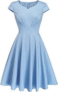 50s Homecoming Dress, 1950 Cocktail Vintage Dress Sweetheart Neck Prom Bridesmaid Dress