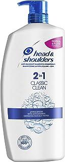 Head & Shoulders Classic Clean 2-en-1 Champú y Acondicionador 1 Litro
