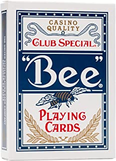 Bee Playing Cards - Blue