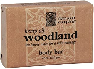 River Soap, Soap Woodland Hemp Oil, 4.5 Ounce